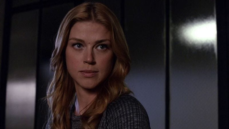 Adrienne Palicki as Bobbi Morse on Marvel's Agents Of S.H.I.E.L.D.