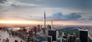 Illustration for article titled Here's What The World's Tallest Residential Building Will Look Like