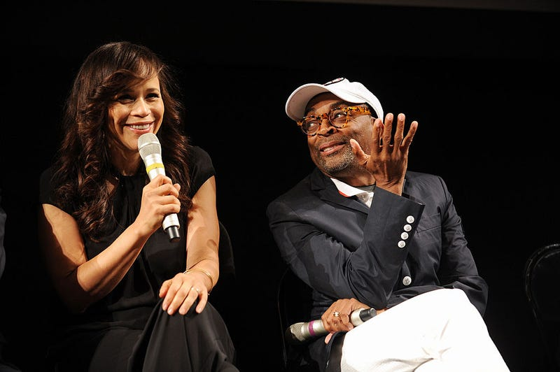 Rosie Perez and Spike Lee.