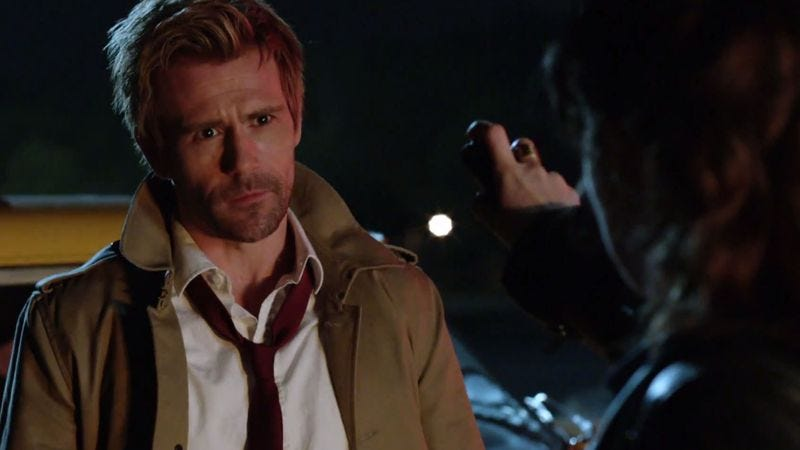 Illustration for article titled Oh, and Constantine won't be bisexual either