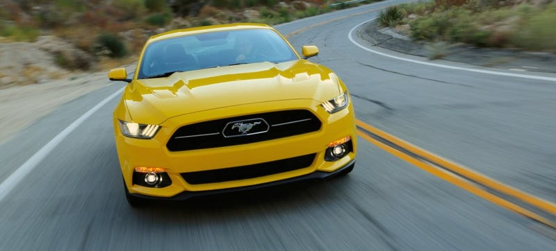Illustration for article titled We Drove The 2015 Ford Mustang: It's Still Best With A V8 And A Stick