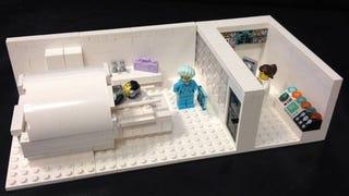 Illustration for article titled Lego MRI Set Built For Hospital
