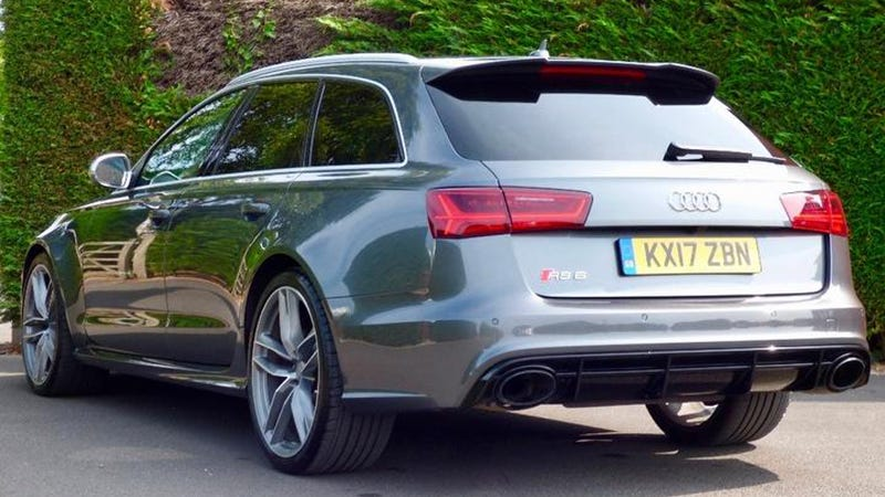Bona Fide Wagon Lord Prince Harry's Audi RS6 Avant Is for Sale