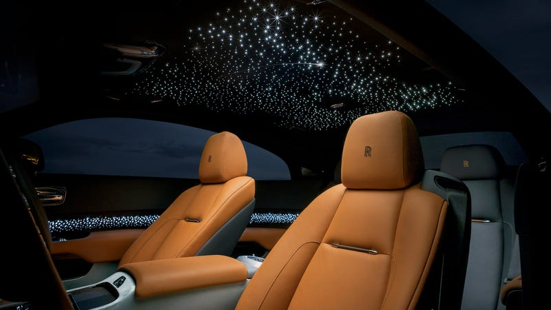 The Rolls Royce Wraith Luminary Puts Shooting Stars In Your Car