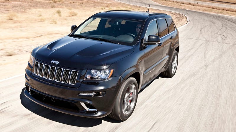 Illustration for article titled 2012 Jeep Grand Cherokee SRT8: First Drive
