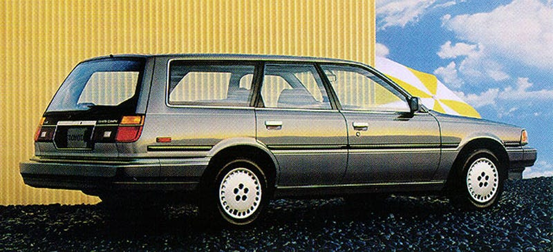Illustration for article titled I'm considering a late [whoops, '80s] Camry station wagon
