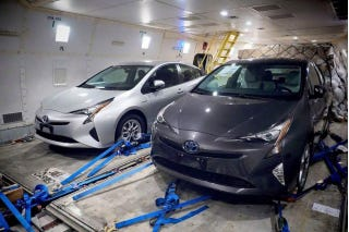 Illustration for article titled The Next Prius: Not As Scary As The Mirai. Probably. Well, see for yourself.