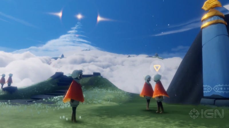 Illustration for article titled ThatGameCompany's Latest Game Is Like Journey With Friends
