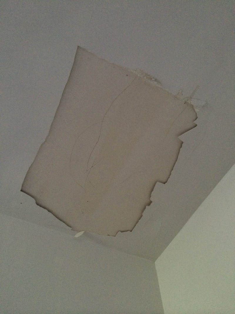 Illustration for article titled ceiling fell off