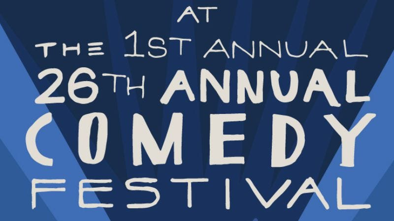 Illustration for article titled Three-day passes for our stand-up fest are now on sale