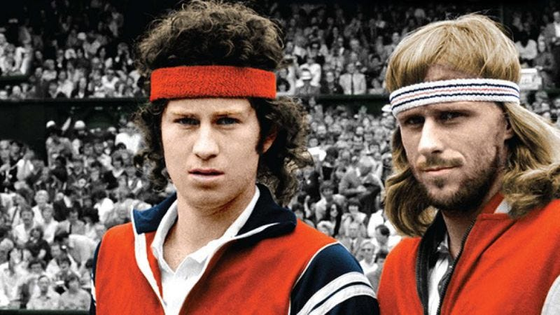 Illustration for article titled McEnroe/Borg: Fire & Ice