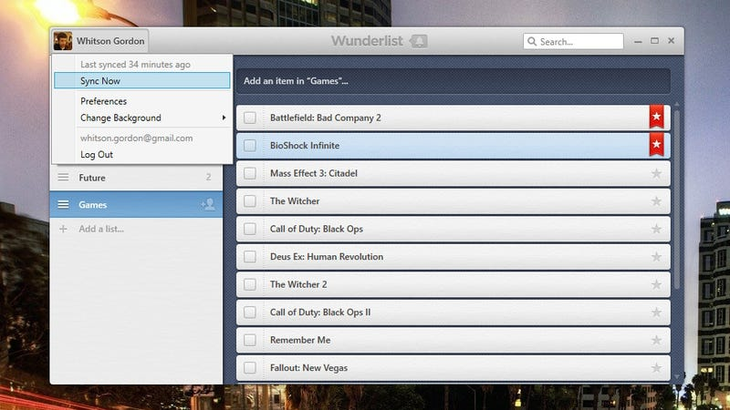 How to Fix the Recent Syncing Issues in Wunderlist