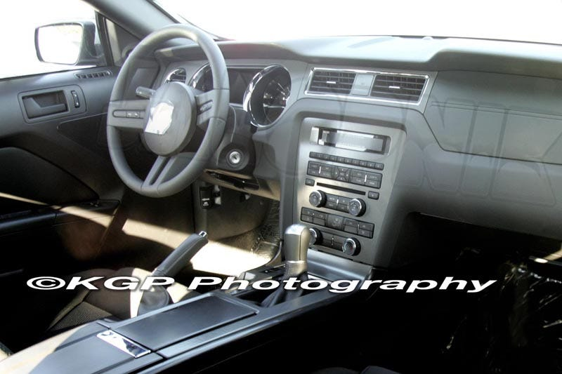 Awesome After Getting A Clearer Look At The 2010 Ford Mustang GT500 Yesterday, We  Just Got These Perfect Spy Shots In From The Folks At KGP Laying Out The  Interior ... Home Design Ideas