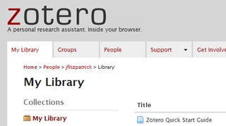 Illustration for article titled How to Clip, Sort, and Cite the Entire Web with Zotero