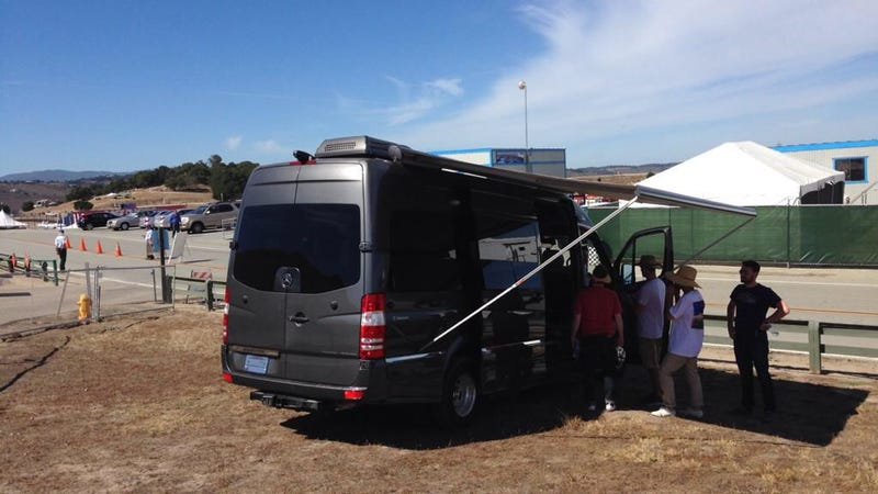 The Roadtrek CS Adventurous Is A Toilet-Equipped Mercedes