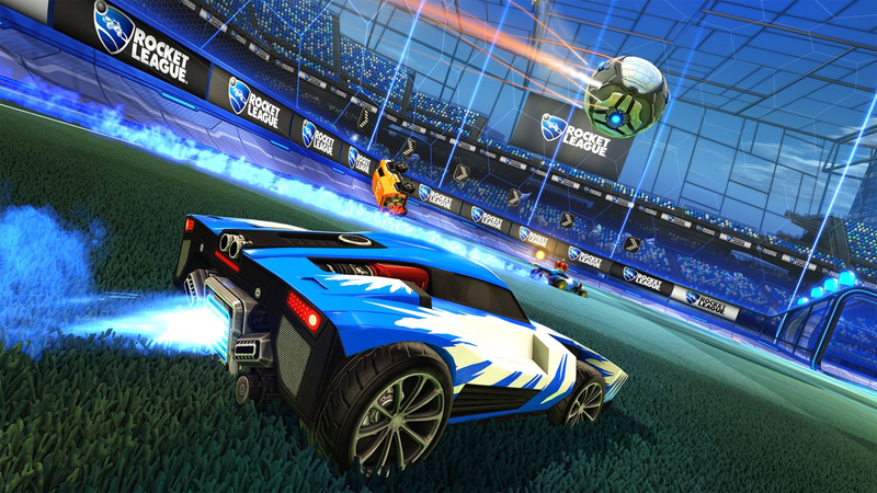 Illustration for article titled Rocket League Now Has Cross-Play Across All Consoles