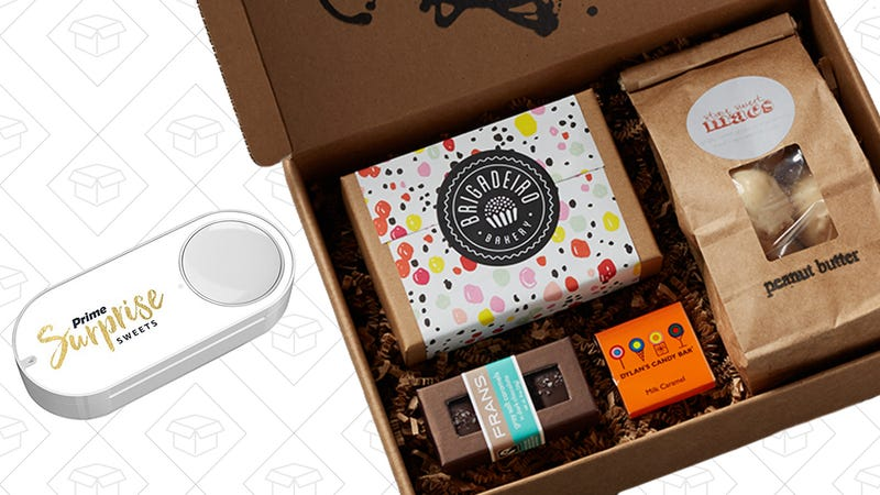 Prime Surprise Sweets Dash Button, $2 with $5 credit with code 2SWEET