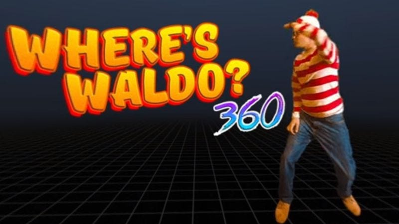 Illustration for article titled Where's Waldo? gets a 360-degree makeover in this interactive video