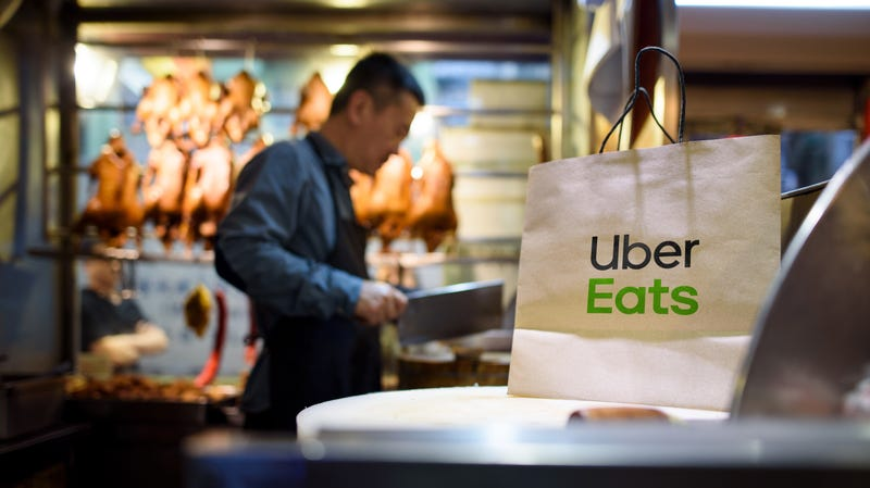 How UberEats drivers could use a loophole to eat customers' food