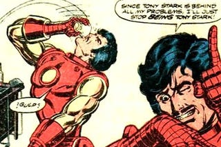 Illustration for article titled Iron Man 2: It's The Alcoholic Iron Man Story!