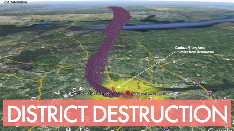 Illustration for article titled Here's What Happens When Our Nation's Capital Is Nuked