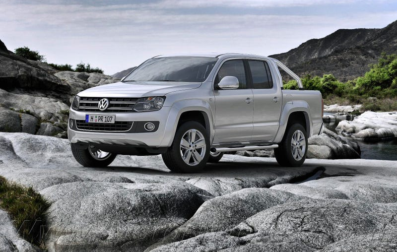 Illustration for article titled The reasons Volkswagen should sell the Amarok in the U.S.