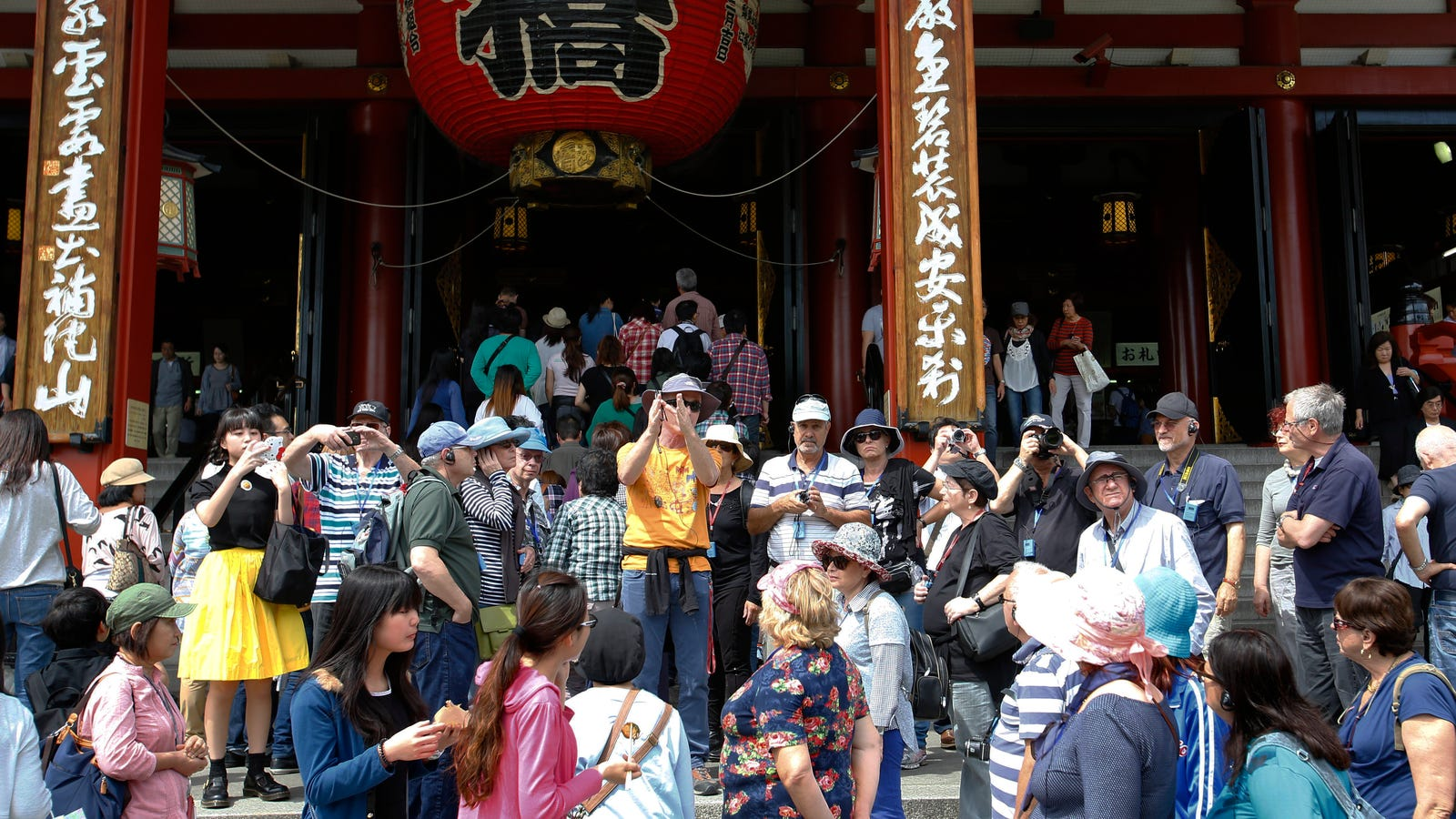 Tourists Are Causing Headaches In Japan