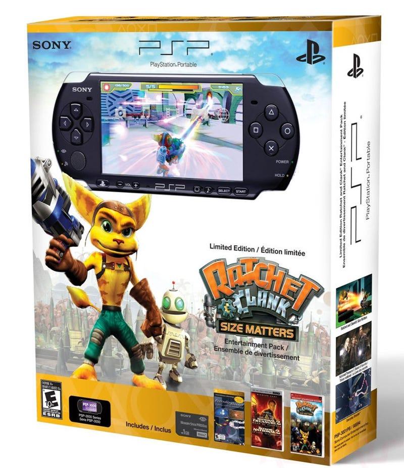 Illustration for article titled Here's A (Sort Of) New PSP Bundle