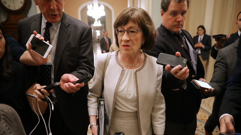 Illustration for article titled Susan Collins Votes 'Yes' on Kavanaugh, Thinks You're Being Hysterical