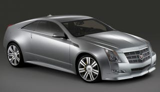 Illustration for article titled Cadillac CTS Coupe To Bow At LA Auto Show