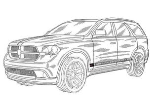 Illustration for article titled 2012 Dodge Magnum Revealed In Patent Drawings, Looks Like An Olds
