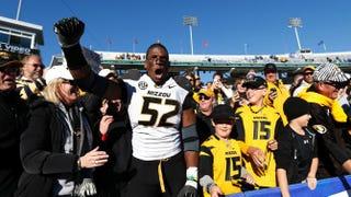 Michael Sam of the Missouri TigersJoe Robbins/Getty Images