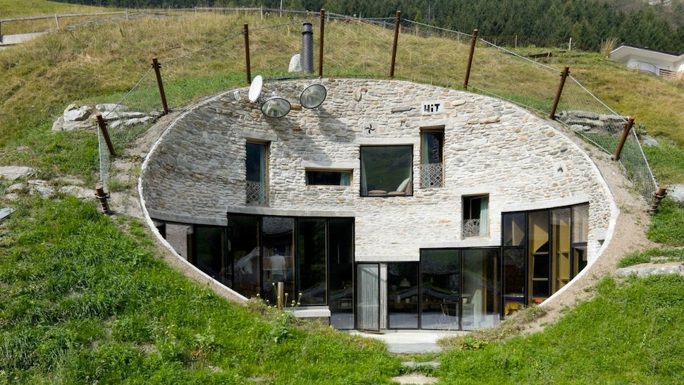 real hobbit house plans   house plans
