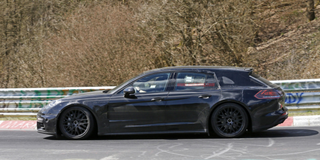 Illustration for article titled Panamera Wagon on the ring'
