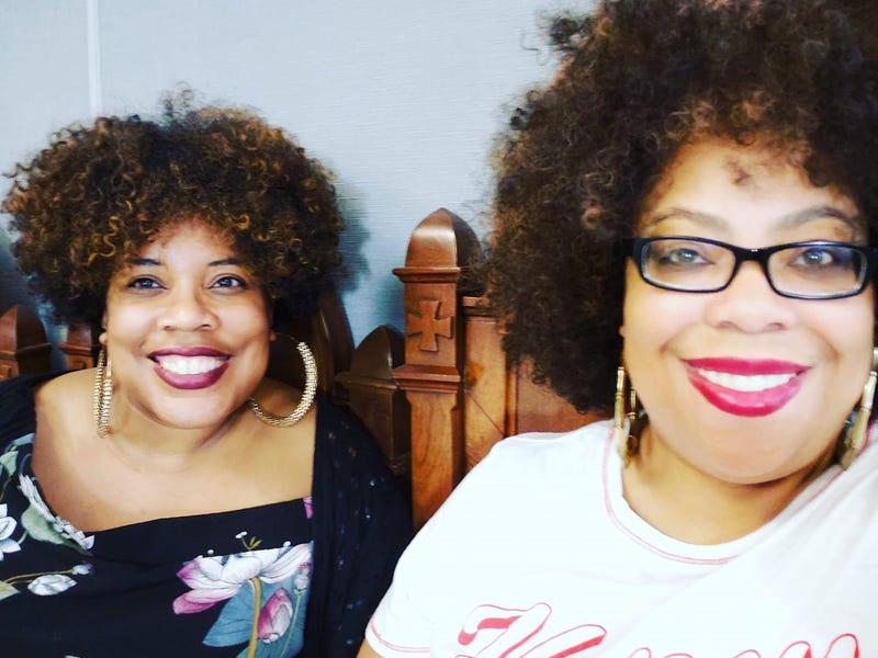 The Root's Editor in Chief, Danielle Belton (L) and Staff Writer/Columnist Monique Judge (R)