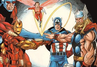 Illustration for article titled Marvel Announces The Avengers' Line-Up, Plus Thor And Captain America News