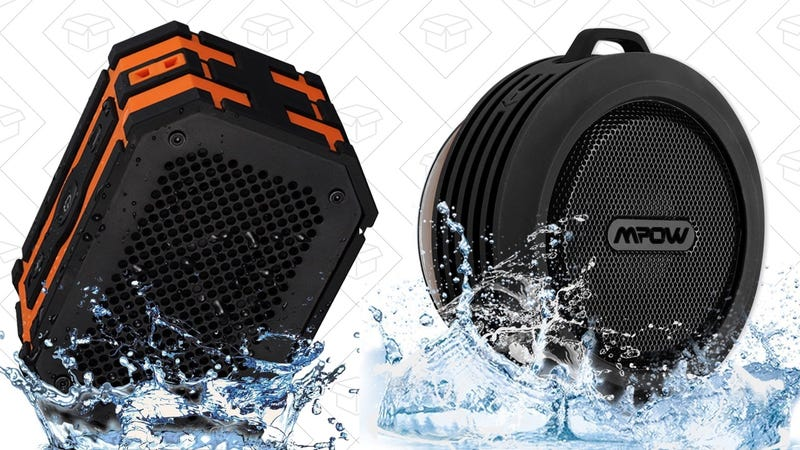 Mpow Armor Bluetooth Speaker, $20 with code LE84DASX | Mpow Buckler Bluetooth Speaker, $13 with code 6HEIRJNV