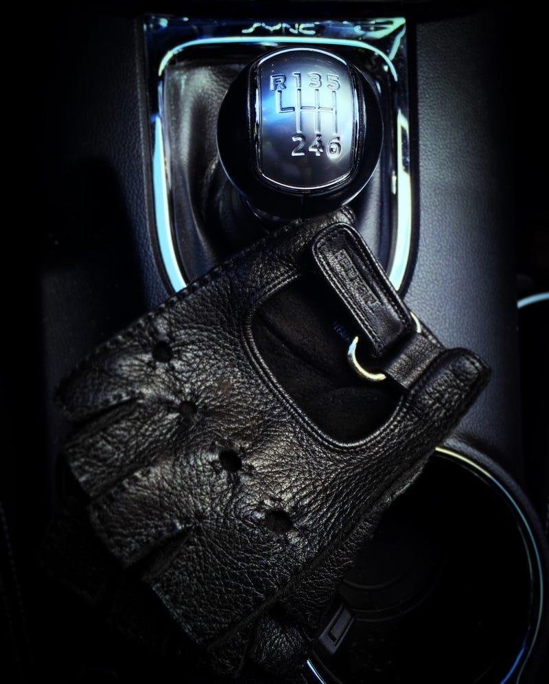 Illustration for article titled Who else enjoys driving with gloves?