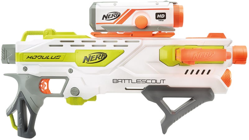 Back in early 2014, Nerf introduced its first blaster with an integrated  video camera—the N-Strike Elite Cam ECS-12 Blaster—for recording your  attacks on ...