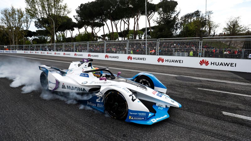 Illustration for article titled Hell Yes, Formula E Wants a Sustainable Night Race