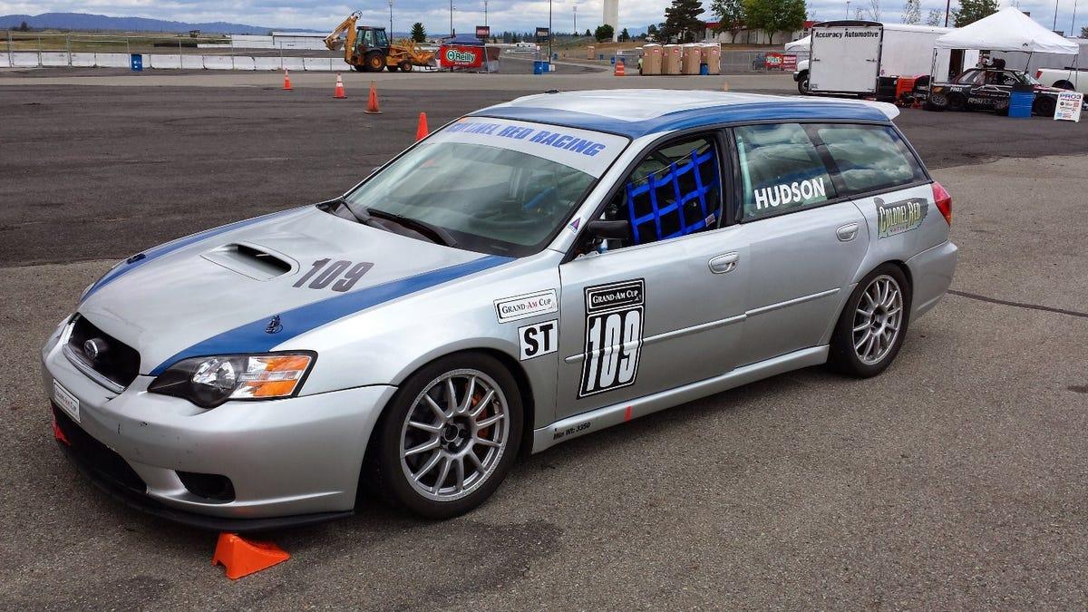 Your Super Awesome Subaru Legacy Wagon Race Car