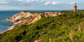 Gay Head Light and Aquinnah Cliffs at Martha's Vineyard (Thinkstock)