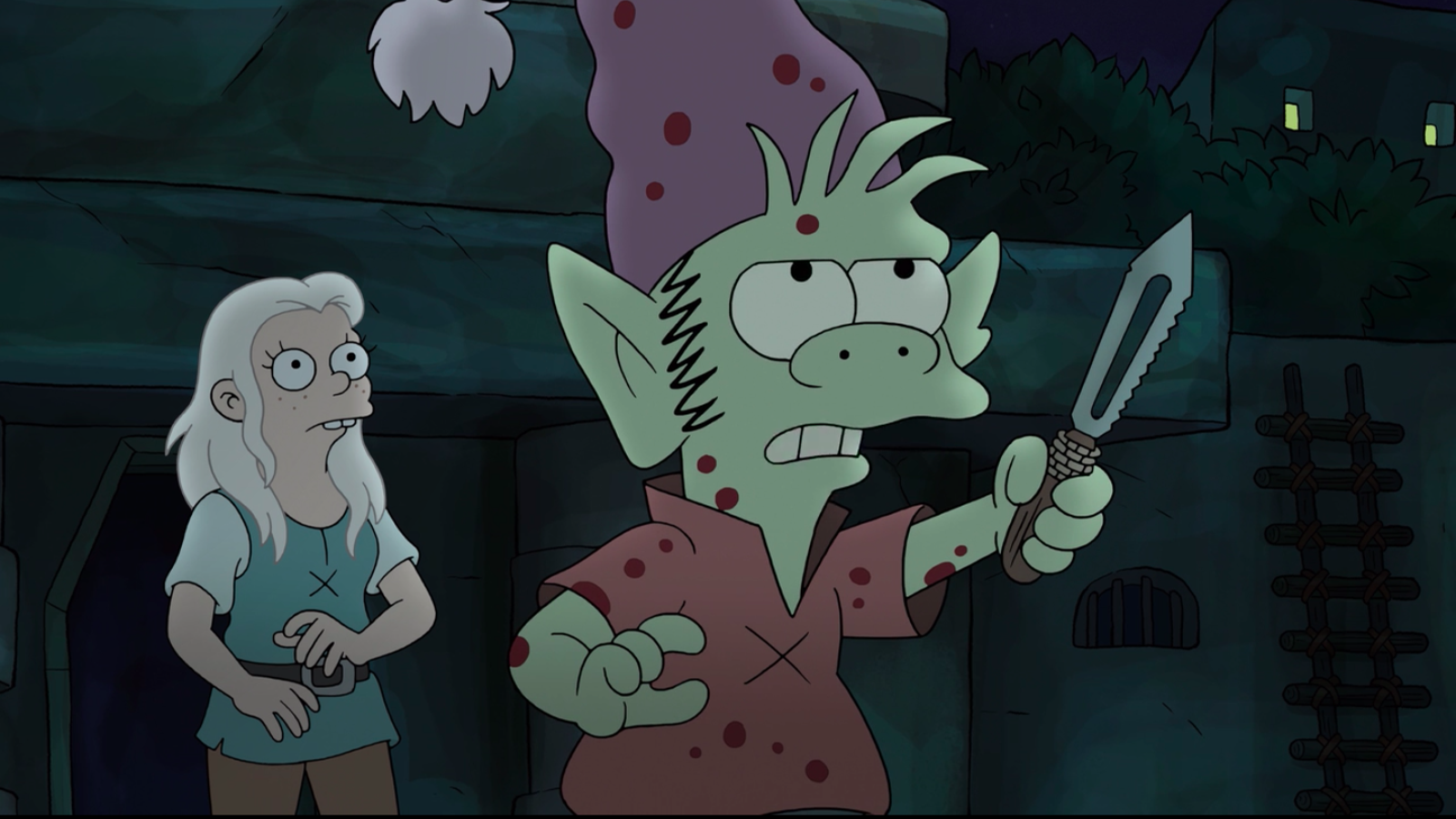 Elfo saves the day on the best episode of Disenchantment so far