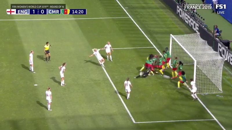 Hell Yeah, England Scored From An Indirect Free Kick
