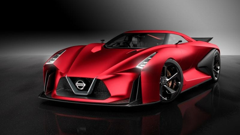 Illustration for article titled Nissan Has A Dumb Idea For The Next GT-R Supercar