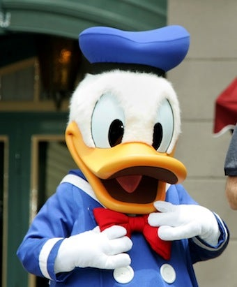 Illustration for article titled Woman Claims Donald Duck Groped Her