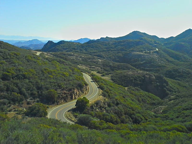 Canyon Roads of the Greater LA Area