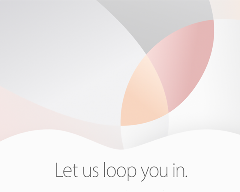 Illustration for article titled Apple's Next Event Is March 21