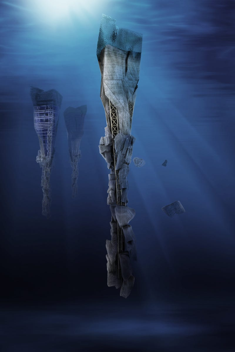 Gorgeous Concept Designs For Underwater Cities