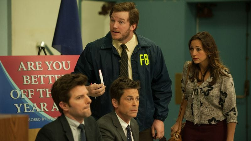 Illustration for article titled Parks And Recreation closes out another season with a case only Burt Macklin can solve